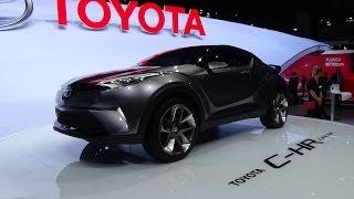 getlinkyoutube.com-2016 - Toyota C-HR Concept - IAA Frankfurt 2015