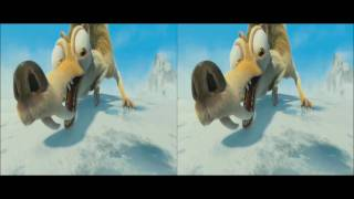 Ice Age 4 - Continental Drift - Trailer 3D  HD 1080p | Voll verschoben