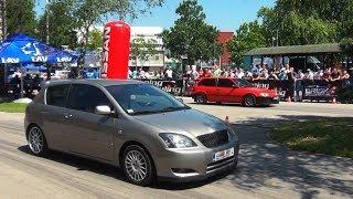getlinkyoutube.com-Toyota Corolla TS vs Honda Civic
