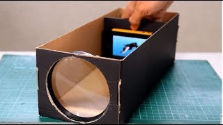 getlinkyoutube.com-how to make a projector from smart phone..... chse credit cards