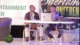 getlinkyoutube.com-Davido and Shizzi demonstrate how to make a hit song at #NECLive