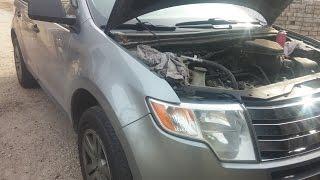 getlinkyoutube.com-07-08 Ford Edge Intake Removal / Spark Plug Replacement Help Video