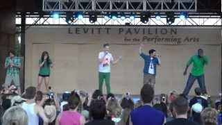 getlinkyoutube.com-Pentatonix - Save the World (Live @ Levitt Pavilion Arlington, TX 9-2-12)