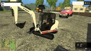 getlinkyoutube.com-Farming Simulator 2015 - Mining and Construction Map With Mods!