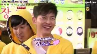 getlinkyoutube.com-Joong Ki - Sunny couple [EP39] - Running Man funny moments