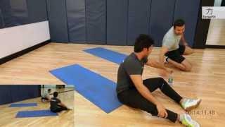 getlinkyoutube.com-اقوى تمارين لتقسيم عضلات البطن في 28 دقيقة - برنامج #تحديكم