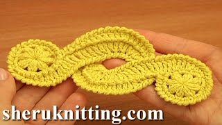 getlinkyoutube.com-Crochet Freeform Motif Tutorial 16 Irish/Guipure Crochet Motif Free Pattern