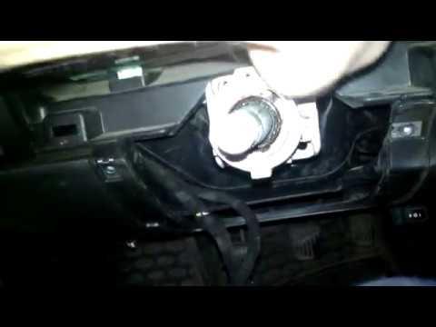 Daewoo Nexia - Замена подшипника в рулевой колонки