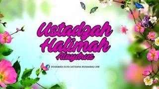 Ustadzah Halimah Alaydrus -  Letak Bahagia yang Sesungguhnya