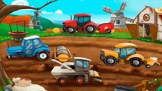getlinkyoutube.com-Машинки. Мультики про машинки. Машинки на ферме и строительной площадке. Мультик пазл.