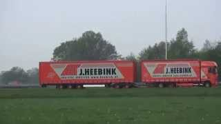 Dutch road train's 25,25 mtr   ook wel LZV