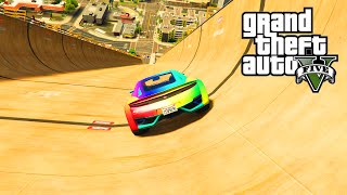 getlinkyoutube.com-GTA 5 PC Mods - MEGA RAMP STUNTS MOD - GTA 5 RAMP MOD STUNTS & FUNNY MOMENTS!