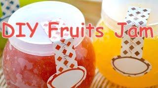 getlinkyoutube.com-Fake Sweets Fruits Jam 凍らせて使う!本物そっくりフルーツジャム
