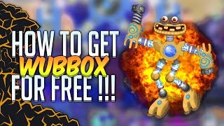 getlinkyoutube.com-My Singing Monsters : HOW TO GET A WUBBOX FOR FREE ! (Easter Egg)