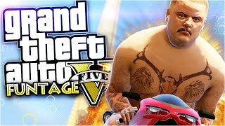getlinkyoutube.com-GTA 5 Funny Moments | Huge Ramp Fails And More