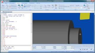 getlinkyoutube.com-CIMCO Edit 7 - Turning Simulation