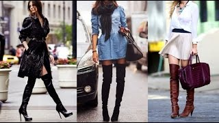 getlinkyoutube.com-OUTFITS CON BOTAS ALTAS | EM Design