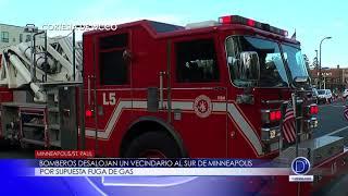 Bomberos desalojan un vecindario al sur de Minneapolis por supuesta fuga de gas