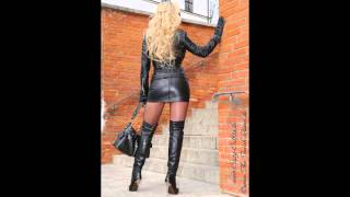 getlinkyoutube.com-super sexy women wearing leather boots