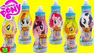 getlinkyoutube.com-My Little Pony Drink and Play Surprise Apple Juice