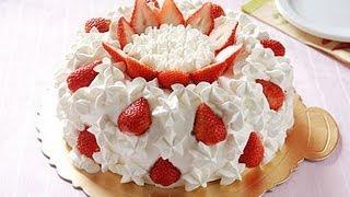getlinkyoutube.com-【楊桃美食網】草莓鮮奶油蛋糕裝飾技巧