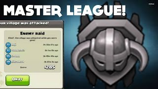 getlinkyoutube.com-Clash of Clans - MASTER LEAGUE - TH8 Trophy base - 2015 - Air sweeper