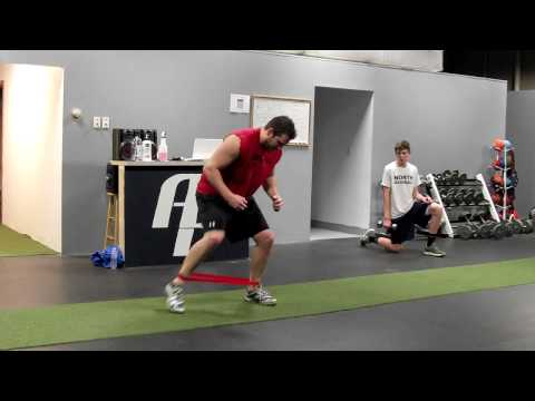 Racquetball Training Drills - Band Taps