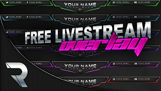 getlinkyoutube.com-Free Livestream Overlay Template  (Twitch) #1