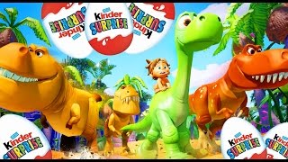 getlinkyoutube.com-❤ The Good Dinosaur ❤ Bom Dinossauro Spot Arlo Pixar Surprise Eggs Movie Trailer Teaser Toys 7/14