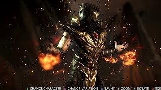 getlinkyoutube.com-Mortal Kombat X - How To Unlock All Scorpion Skins/Costumes (Full Guide)