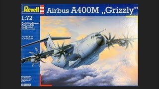 "getlinkyoutube.com-Revell 1/72 Airbus A400M ""Grizzly"" Scale Model Review"