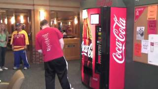 getlinkyoutube.com-Coca-Cola happiness machine spreads joy at Kansas Union