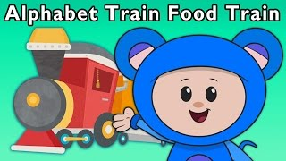 getlinkyoutube.com-T Is for Train | Alphabet Train Food Train and More | Baby Songs from Mother Goose Club!