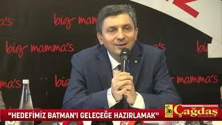 BATMAN VALİSİ HULUSİ ŞAHİN'DEN AÇIKLAMALAR