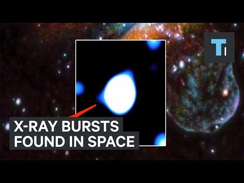 X-ray bursts found in space confused astronomers