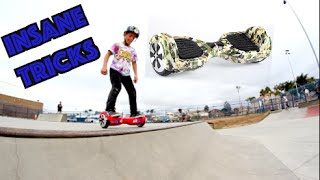 getlinkyoutube.com-INSANE 7 YEAR OLD HOVERBOARD TRICKS AT THE SKATEPARK!