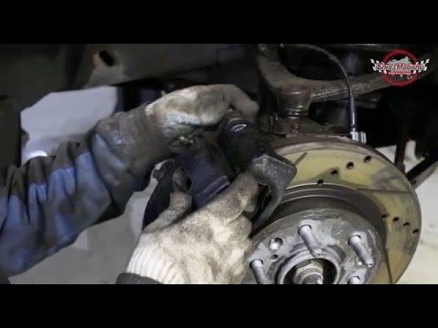 Chevrolet Tahoe замена тормозных накладок