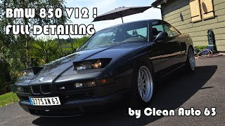getlinkyoutube.com-detailing BMW 850 csi - V12 by Clean Auto 63 France