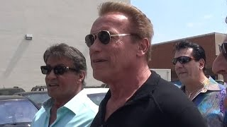 getlinkyoutube.com-Arnold Schwarzenegger And Sylvester Stallone Say The Boxing Re-Match Should Be Them