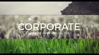 Slide for Business — After Effects project | Videohive template