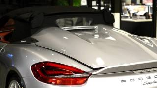 getlinkyoutube.com-2016 Boxster Spyder roof opening procedure