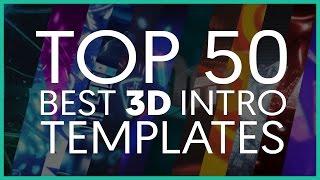 getlinkyoutube.com-TOP 50 BEST 3D INTRO TEMPLATES (Cinema 4D)