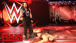 Roman Reigns and Rusev agree to meet inside Hell in a Cell: Raw, Oct. 3, 2016 width=