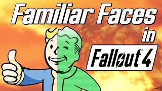 getlinkyoutube.com-Familiar Faces in Fallout 4 | Ultimate Compilation!