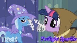 getlinkyoutube.com-Epic Rap Battles Of History (Pony Parody) Season 2 - Trixie VS Twilight Sparkle