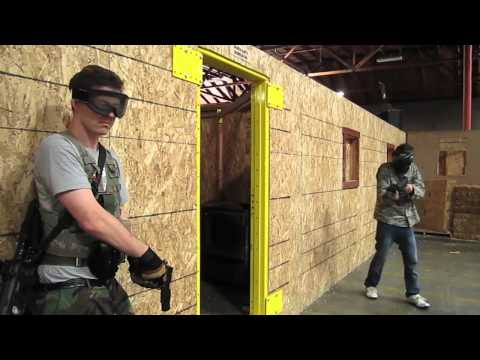CQB CITY AIRSOFT ACTION JUNE 12th 2011 (TM MASTERKEY TACTICAL THOMPSON POV AUG GOPROHD)