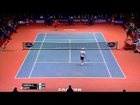 Zagreb 2015 Final Highlights Garcia Lopez Seppi