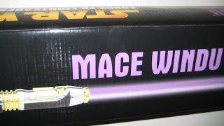 getlinkyoutube.com-Master Replicas Star Wars Force FX Mace Windu Lightsaber