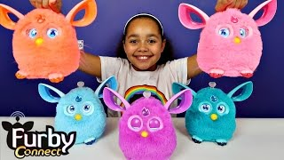 getlinkyoutube.com-Ad - Furby Connect Collection - Connect World App - Surprise Toys For Kids - Kids Toy Review