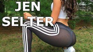 getlinkyoutube.com-Jen Selter All August September 2016 Videos  [] jen selter workout [] transparent surprise